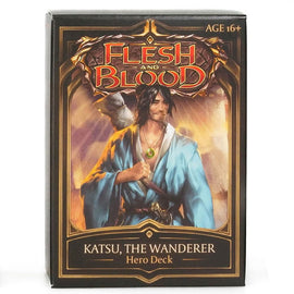 Flesh and Blood: Welcome to Rathe - Katsu, the Wanderer Hero Deck