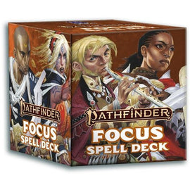 Pathfinder 2nd Edition: Focus Spell Cards