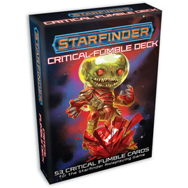Starfinder Critical Fumble Deck