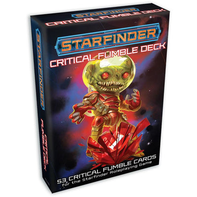 Starfinder Critical Fumble Deck product-item1
