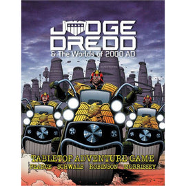 Judge Dredd and the Worlds of 2000AD RPG - Core Rulebook