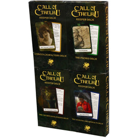 Call of Cthulhu: Keeper Deck cards