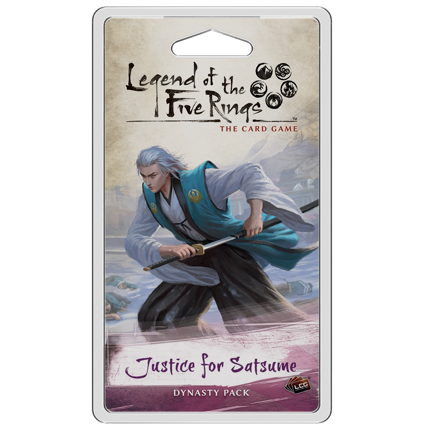 Legend of the Five Rings: The Card Game - Justice for Satsume