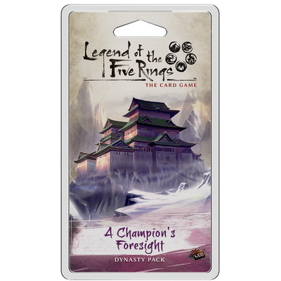 Legend of the Five Rings: The Card Game - A Champion's Foresight product-item1