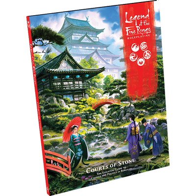 Legend of the Five Rings RPG: Courts of Stone Sourcebook product-item1