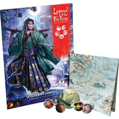 Legend of Five Rings RPG: Winter's Embrace Adventure Book product-item1