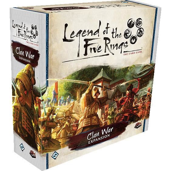 Legend of the Five Rings: The Card Game - Clan War Expansion