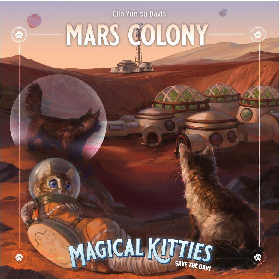 Magical Kitties Save the Day - Mars Colony Adventure
