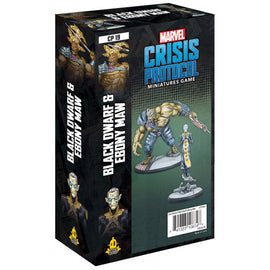 Marvel: Crisis Protocol Miniatures Game - Black Dwarf and Ebony Maw Character Pack