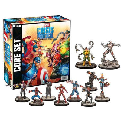 Marvel: Crisis Protocol Miniatures Game - Core Set product-item1