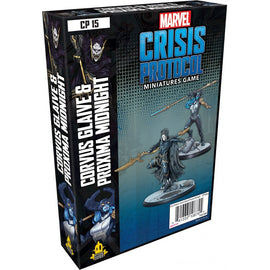 Marvel: Crisis Protocol Miniatures Game - Corvus Glaive and Proxima Midnight Character Pack