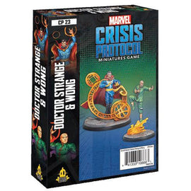 Marvel: Crisis Protocol Miniatures Game - Doctor Strange and Wong Character Pack