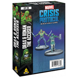 Marvel: Crisis Protocol Miniatures Game - Drax and Ronan the Accuser Character Pack