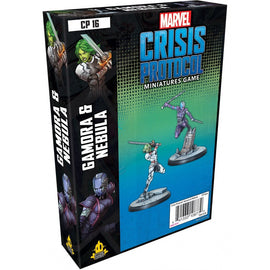 Marvel: Crisis Protocol Miniatures Game - Gamora and Nebula Character Pack