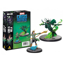 Marvel: Crisis Protocol Miniatures Game - Loki and Hela Character Pack