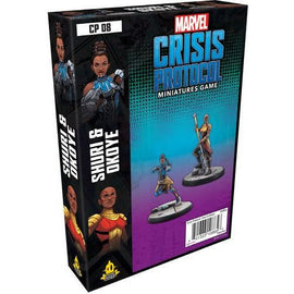 Marvel: Crisis Protocol Miniatures Game - Okoye and Shuri Character Pack