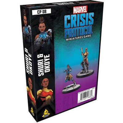 Marvel: Crisis Protocol Miniatures Game - Okoye and Shuri Character Pack product-item1