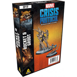 Marvel: Crisis Protocol Miniatures Game - Rocket and Groot Character Pack