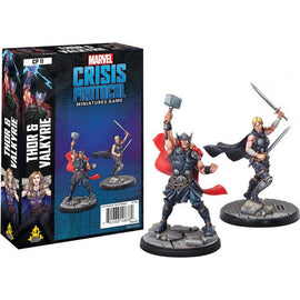Marvel: Crisis Protocol Miniatures Game - Thor and Valkyrie Character Pack