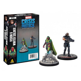 Marvel: Crisis Protocol Miniatures Game - Vision and Winter Soldier Character Pack