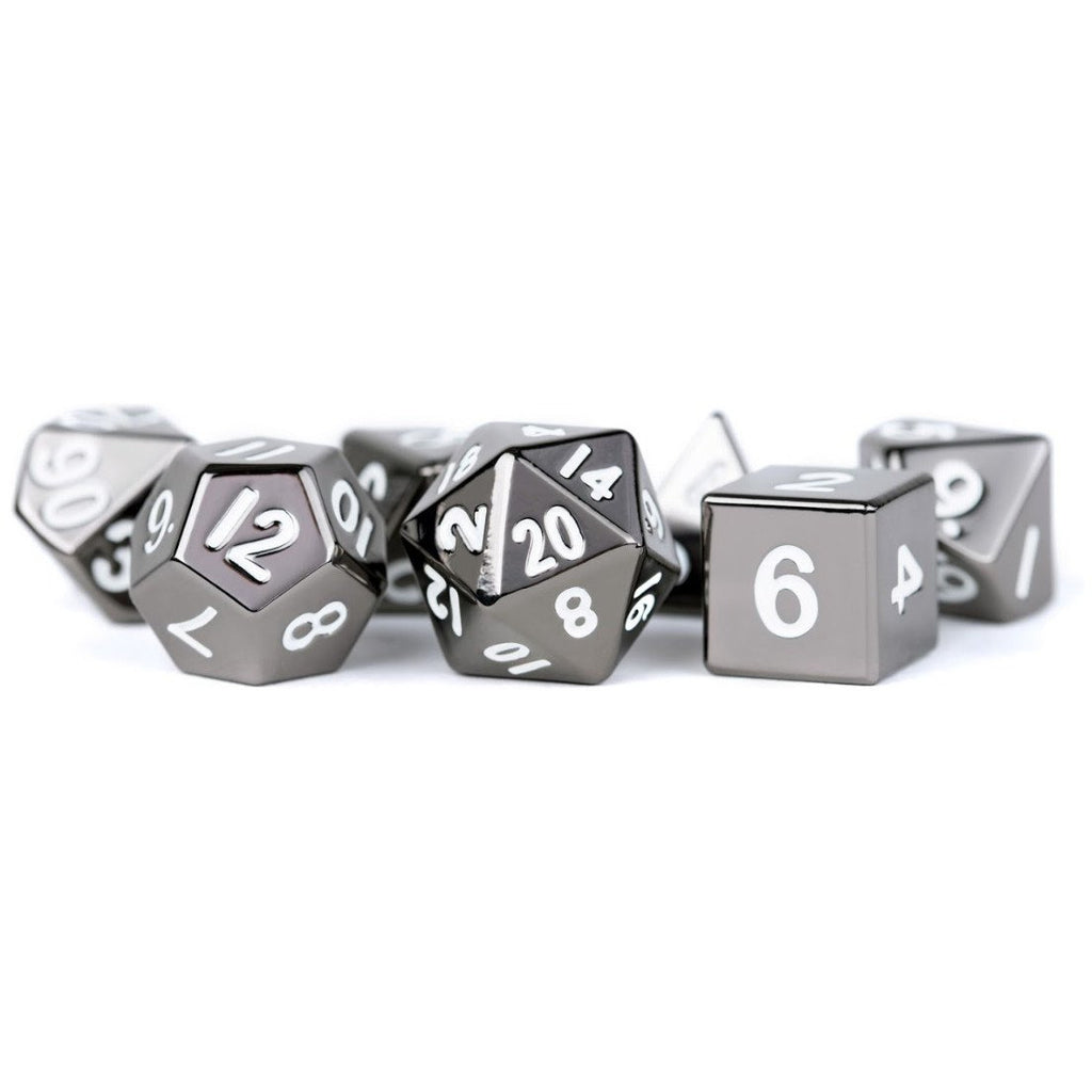 MDG - Metal Dice Set - Sterling Gray