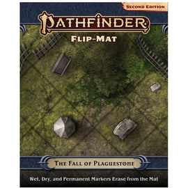 Pathfinder 2nd Edn Flip Mat: The Fall of Plaguestone