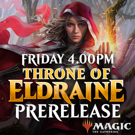Throne of Eldraine Prerelease - Friday 27 September 2019 - 4.00PM Solo