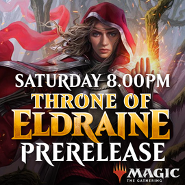 Throne of Eldraine Prerelease - Saturday 28 September 2019 - 8.00PM Solo