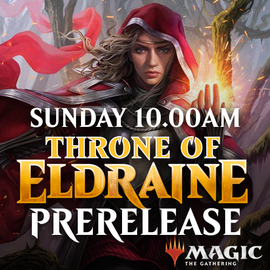 Throne of Eldraine Prerelease - Sunday 29 September 2019 - 10.00AM Solo