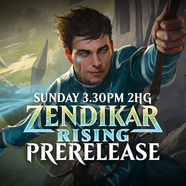 Zendikar Rising Prerelease - Sunday 20 September 3.30pm Two-Headed Giant