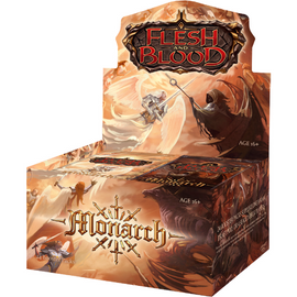 Flesh and Blood: Monarch (1st Edition) Booster Display