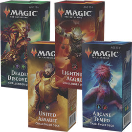 Magic the Gathering 2019 Challenger Deck Arcane Tempo Blue//Red C62750000