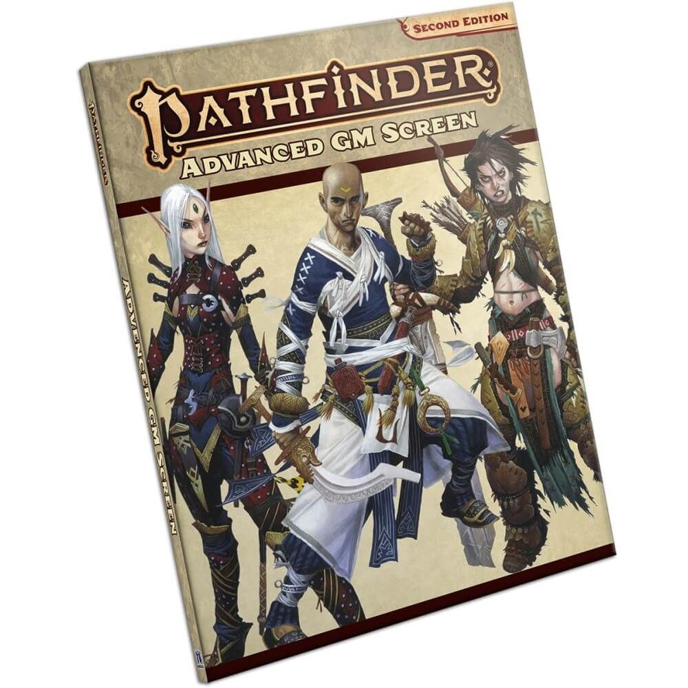 Pathfinder 2nd Edition: Advanced GM Screen
