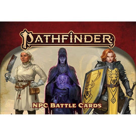 Pathfinder 2nd Edition: NPC Battle Cards