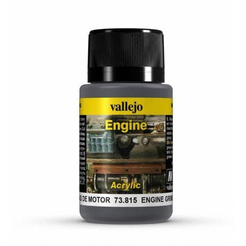 Vallejo Weathering Effects - Engine Grime (40ml)