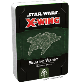 Star Wars X-Wing 2nd Edition: Scum and Villany Damage Deck