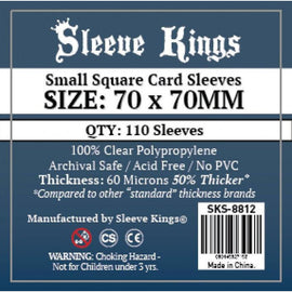 Sleeve Kings - Small Square (70mm x 70mm) (110pk)