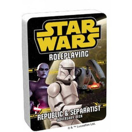 Star Wars RPG: Republic and Separatist Adversary Deck