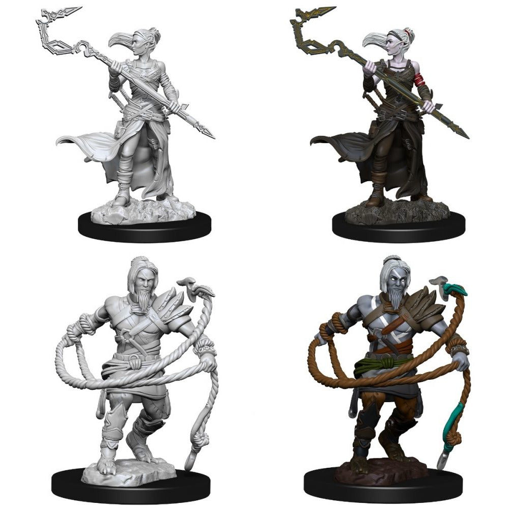 Magic the Gathering Minis - Stoneforge Mystic & Kor Hookmaster (Fighter, Rogue, Wizard)