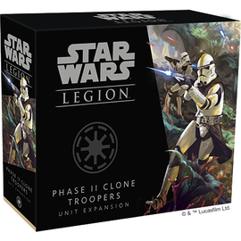 Star Wars Legion: Phase II Clone Troopers Unit Expansion