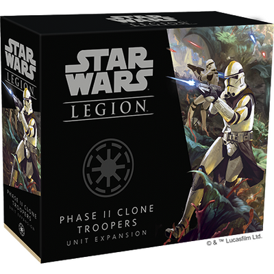 Star Wars Legion: Phase II Clone Troopers Unit Expansion product-item1
