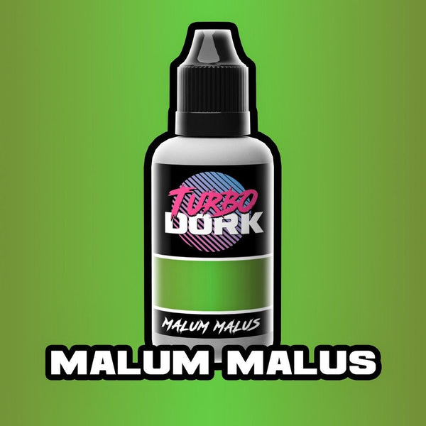 Turbo Dork: Malum Malus Metallic Acrylic Paint - 20ml Bottle