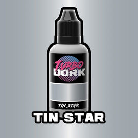 Turbo Dork: Tin Star Metallic Acrylic Paint - 20ml Bottle
