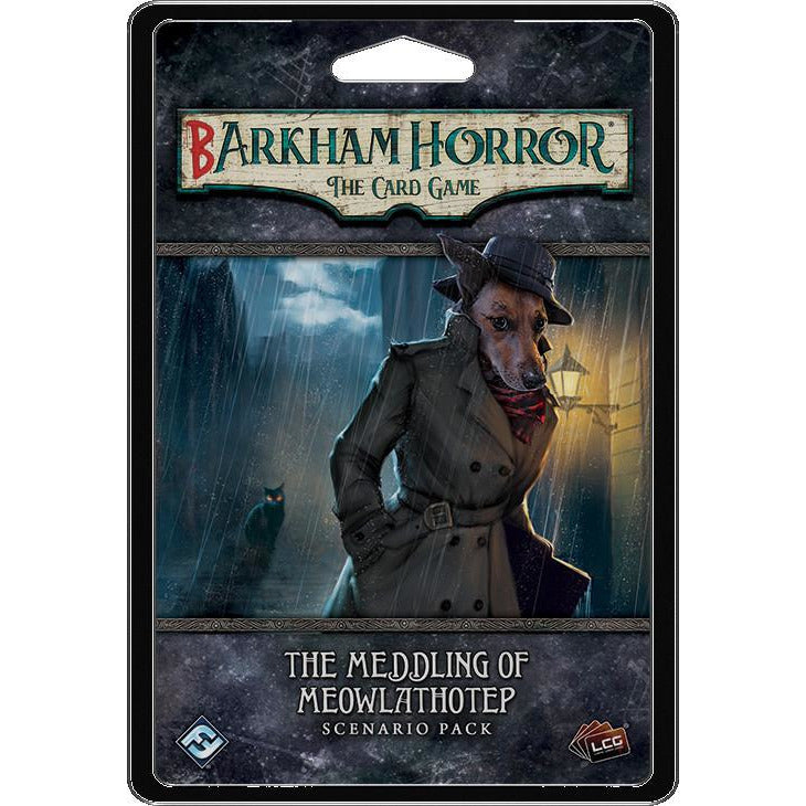 Arkham Horror: The Card Game - Barkham Horror - The Meddling of Meowlathotep