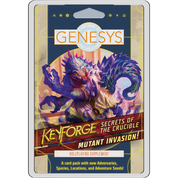 Genesys RPG: Mutant Invasion! Card Pack