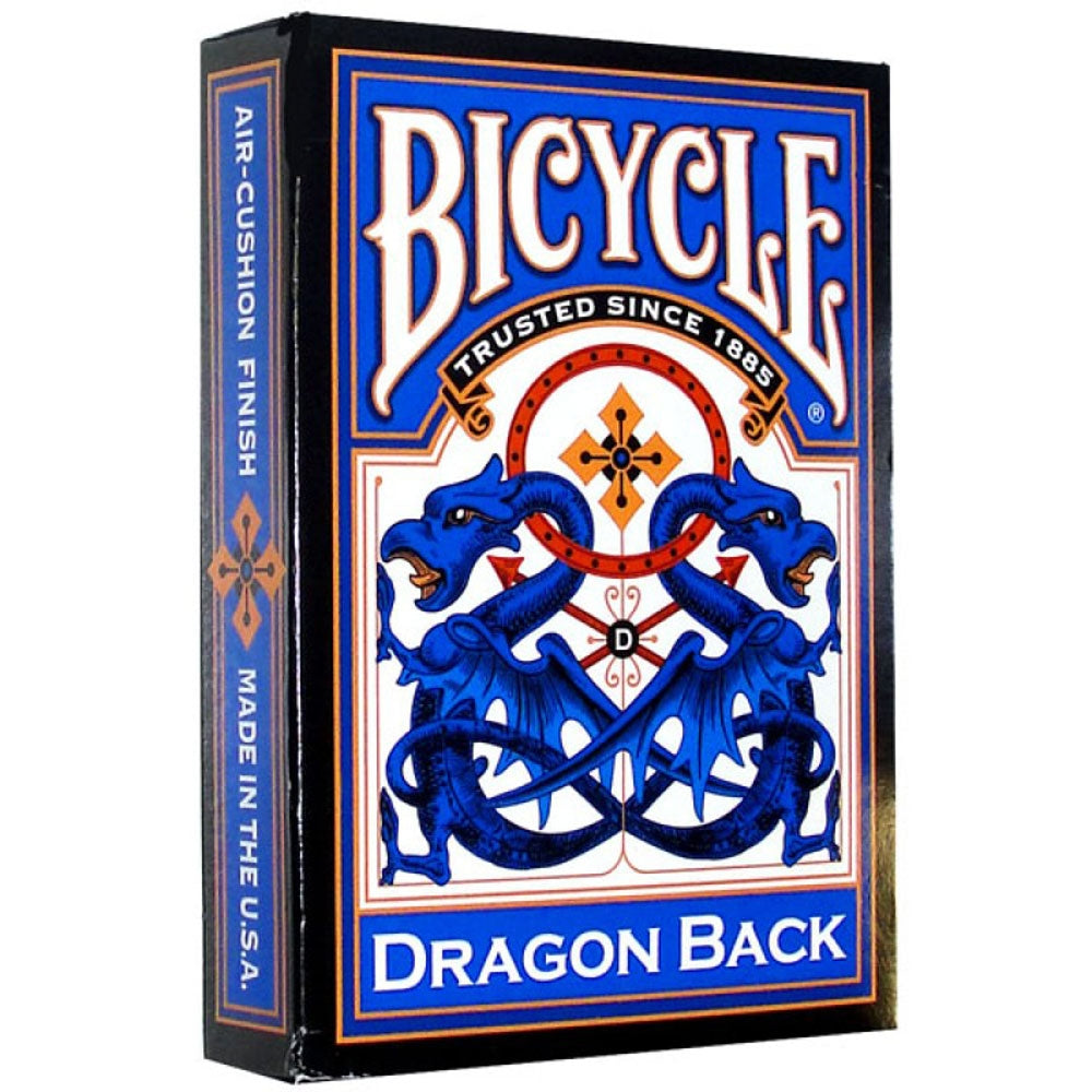 Playing Cards - Bicycle Dragon Back Deck (Blue)