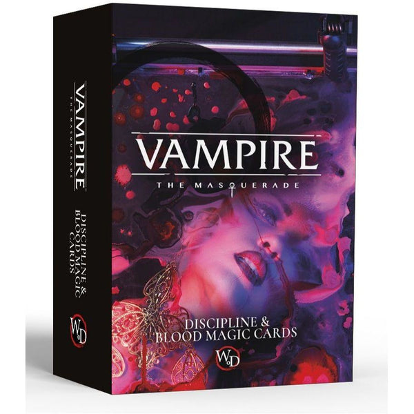 Vampire: The Masquerade Discipline and Blood Magic Card Deck