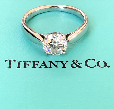 Pre-Loved Tiffany & Co. 0.90ct Harmony Diamond Ring