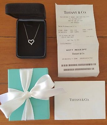 Vintage Tiffany & Co. Diamond Necklace. Save money off retail with this pre-loved diamond necklace.