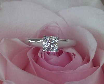 Pre Loved Tiffany & Co Diamond Engagement Ring. Save money off retail with this Vintage Tiffany & Co. Diamond Engagement Ring.